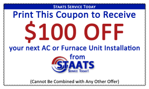 100 HVAC Coupon